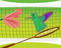 Badminton Hummingbird