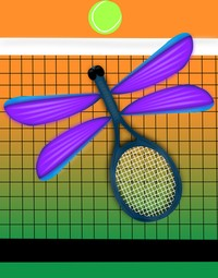 Tennis Racket Dragonfly